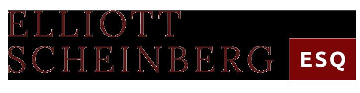 Elliott Scheinberg ESQ Logo