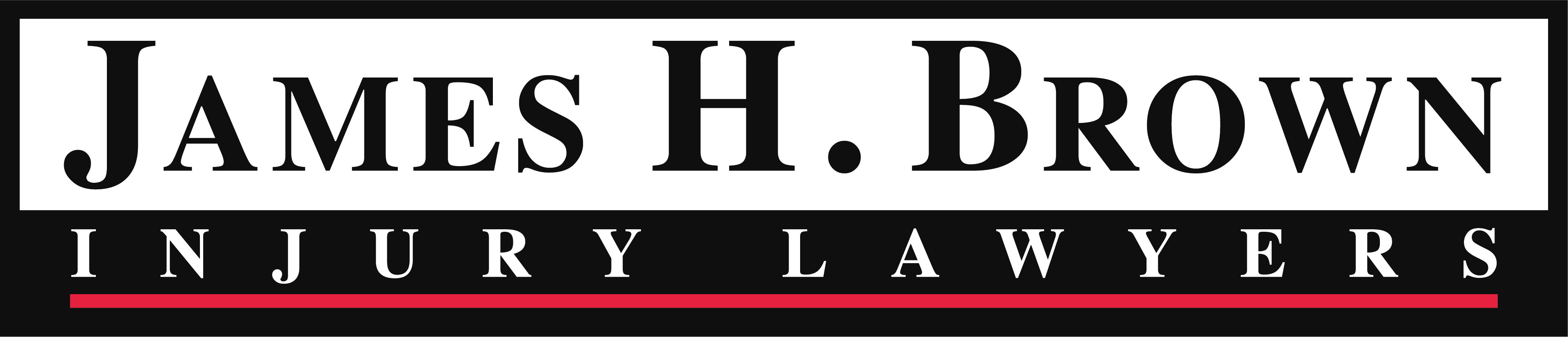 James H. Brown Injury Lawyers Logo
