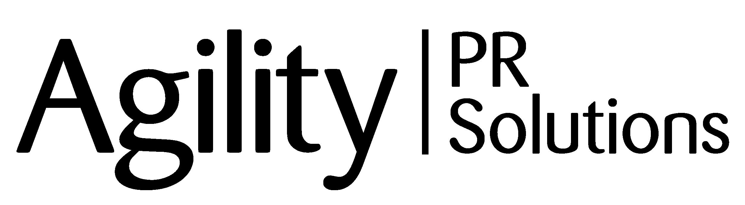Agility Horizontal Black logo