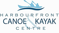 Harbourfront Canoe Kayak Centre Logo- link opens in new window