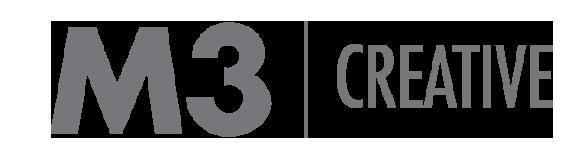 M3 Creative logo