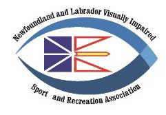 Newfoundland and Labrador Visually Impaired Sport and Recreation Association logo