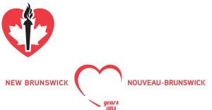 Heart and Stroke of New Brunswick - 50yr anniversary logo