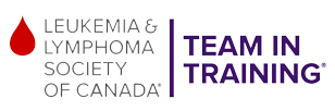 Leukemia and Lymphoma Society of Canada Team in Training logo.