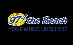 97 7 The beach logo.