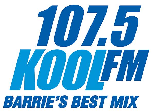 1075 Kool FM. Barrie's Best Mix.