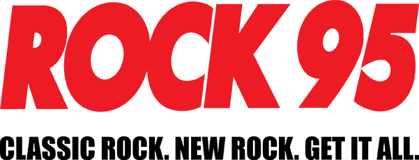 Rock 95. Classic rock. New rock. Get it all.