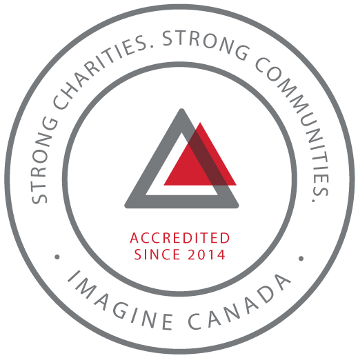 Strong charities. Strong communities. Imagine Canada. Accredited