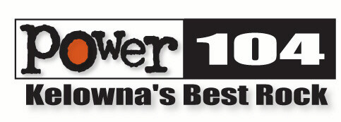 Power 104 Kelowna's Best Rock Logo
